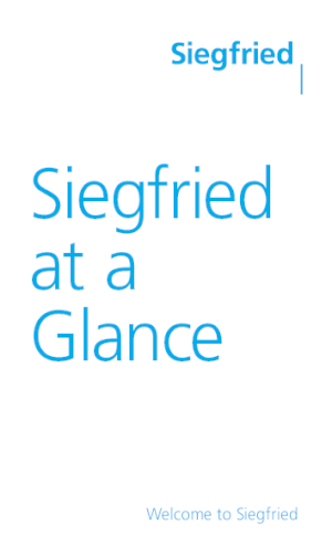 Siegfried at a Glance (EN)