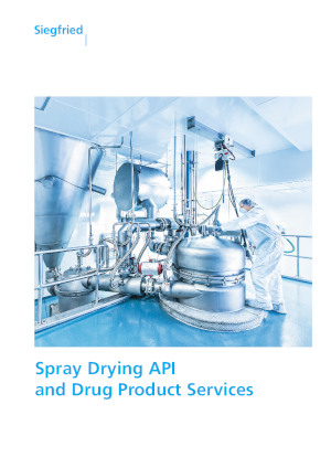 Spray Drying API and Drug Product Services